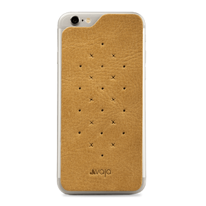 Leather Back - Premium Leather Back for iPhone 6/6s - Vajacases