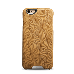 iPhone 6/6s - Embossed Leather Grip Case - Vaja