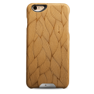 iPhone 6 Plus/6s Plus - Embossed Leather Grip Case - Vajacases