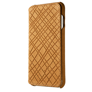 iPhone 6 Plus/6s Plus - Embossed Leather Agenda - Vaja