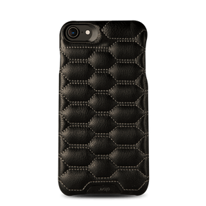 Grip Matelasse Quilted iPhone 7 Leather case - Vaja