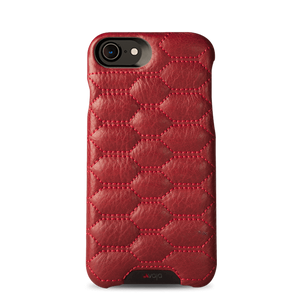 Grip Matelasse Quilted iPhone 7 Leather case - Vajacases