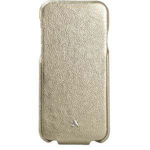 iPhone 6/6s Plus - Vintage Metallic Top Leather Case - Vaja