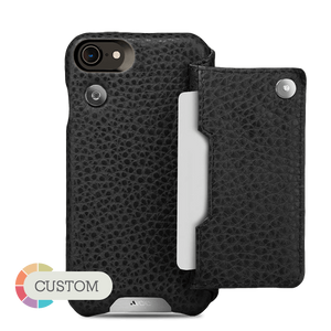 Customizable Niko Wallet iPhone 7 Leather Case - Vajacases
