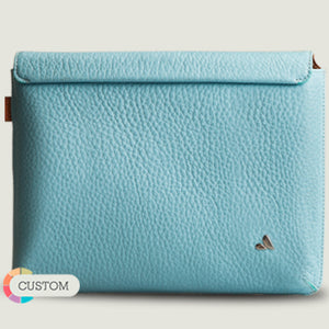 "Customizable iPad Leather Sleeve 9.7"" - Vaja"
