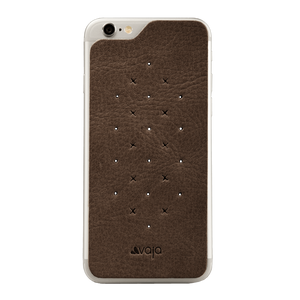 Leather Back - Premium Leather Back for iPhone 6 Plus/6s Plus - Vajacases