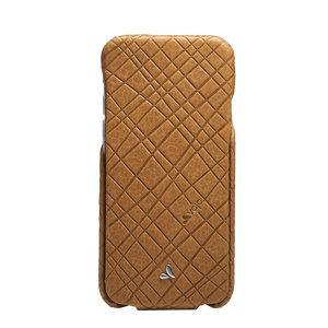 iPhone 6/6s - Embossed Top Leather Case - Vaja