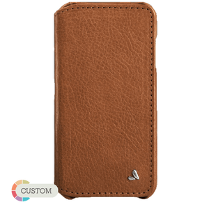 Customizable Wallet Agenda - Wallet + iPhone 6 Plus/6s Plus Leather Case - Vaja