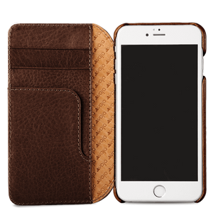 Wallet Agenda iPhone 8 Leather Case - Vaja