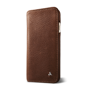 Wallet Agenda iPhone 8 Leather Case - Vajacases