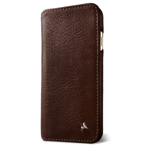 Wallet Agenda iPhone 8 Plus Leather Case - Vaja