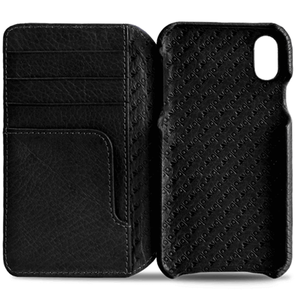 info for 785bc f2a5a Wallet Agenda iPhone X / iPhone Xs Leather Case