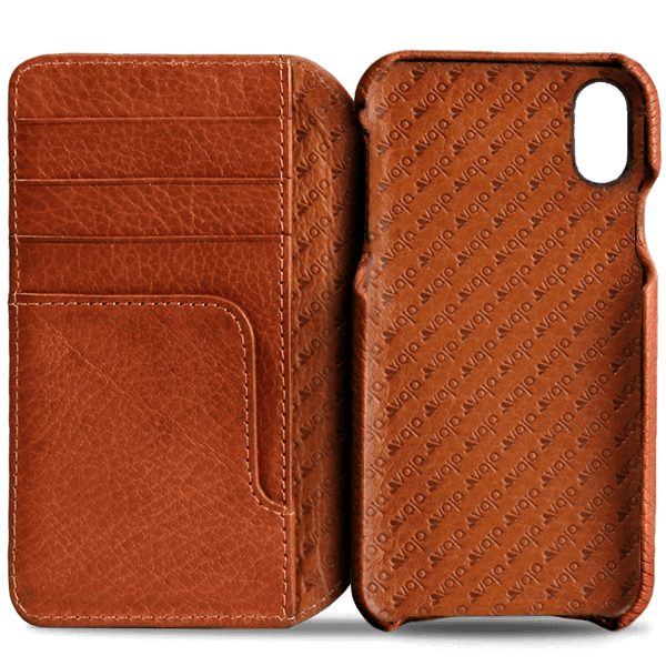 case iphone xs leather