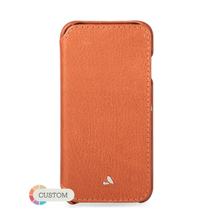 Customizable Agenda iPhone 8 Leather case - Vaja
