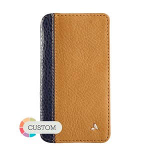 Customizable Wallet LP iPhone 8 leather case - Vajacases
