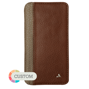 Customizable Wallet LP iPhone 8 Plus leather case - Vajacases