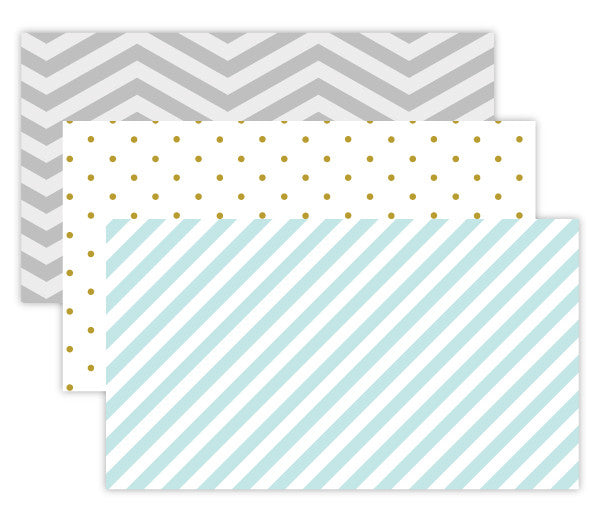 Patterned Appointment Card Set