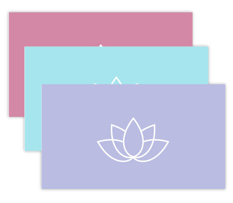 Spa Appointment Card Set