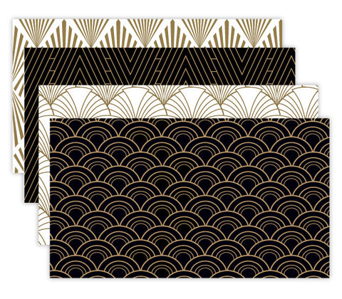 Art Deco Appointment Card Set