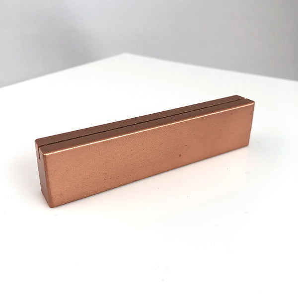 Copper Metal Rectangle Stands