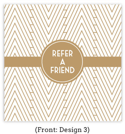 Art Deco Referral Card Set