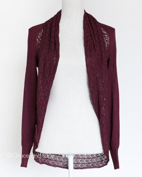 Grace and Lace - Light Weight Two Fit Knit Cardi - NEW COLOURS - Belle + Bliss Boutique - 6