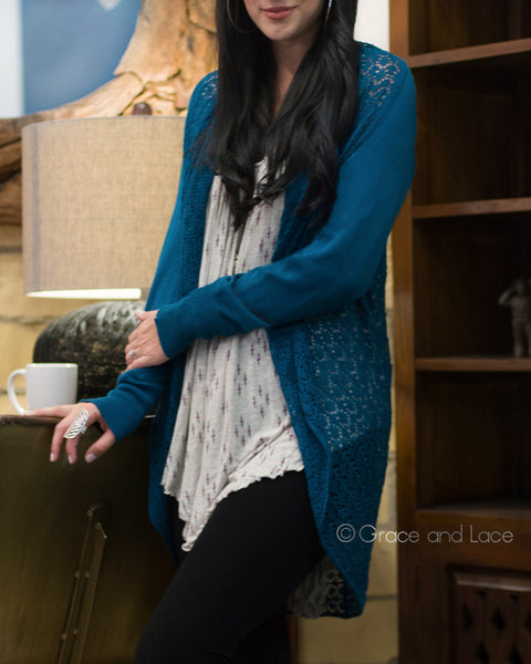 Grace and Lace - Light Weight Two Fit Knit Cardi - NEW COLOURS - Belle + Bliss Boutique - 8