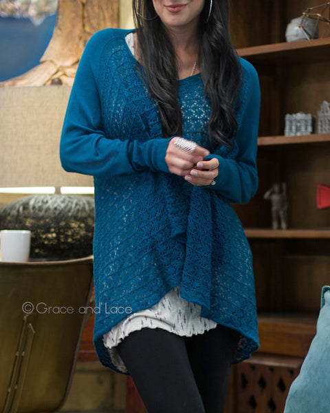 Grace and Lace - Light Weight Two Fit Knit Cardi - NEW COLOURS - Belle + Bliss Boutique - 9