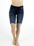"Grace and Lace 7"" Classic Mid Rise Pull On Shorts - Dark Wash"