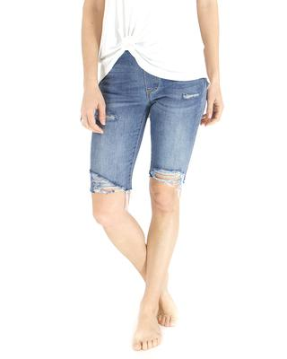 "Grace and Lace 9"" Classic Mid Rise Pull On Shorts"
