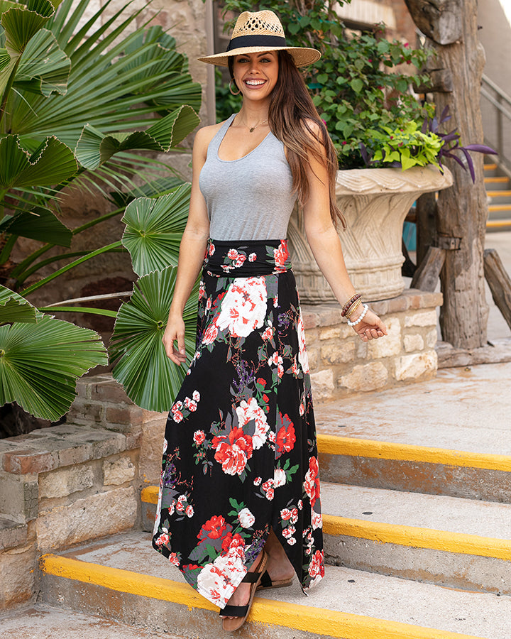 Grace and Lace Floral Convertible Skirt/Dress