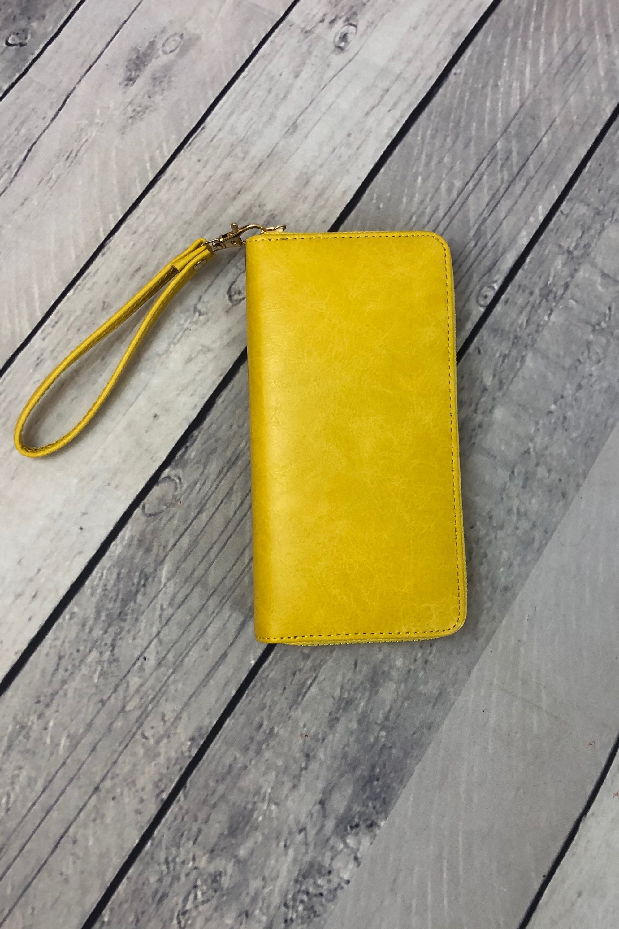 Clutch Wallet - Yellow
