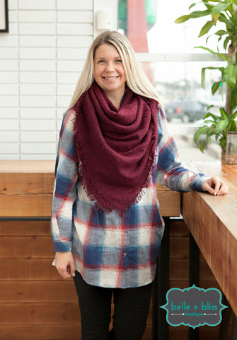 Extra Soft Blanket Scarf