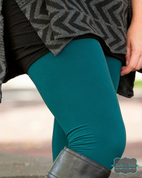 Solid Leggings - New Colours - Belle + Bliss Boutique - 3