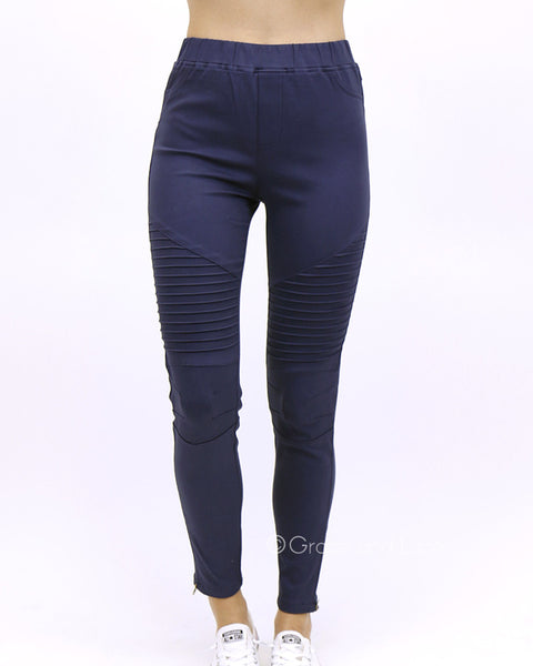 Grace and Lace - Moto Jeggings