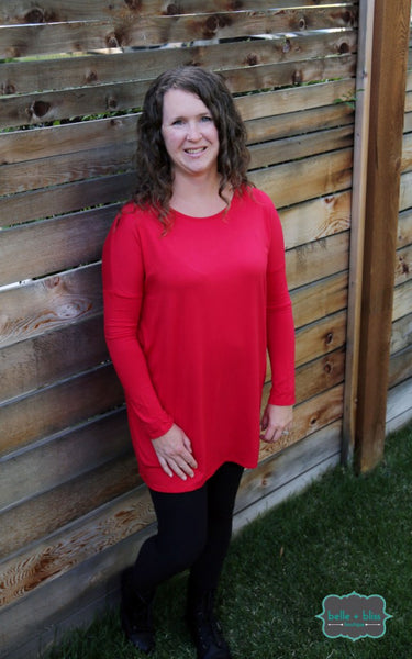 Bamboo Long Sleeved Tunic - MORE COLOURS