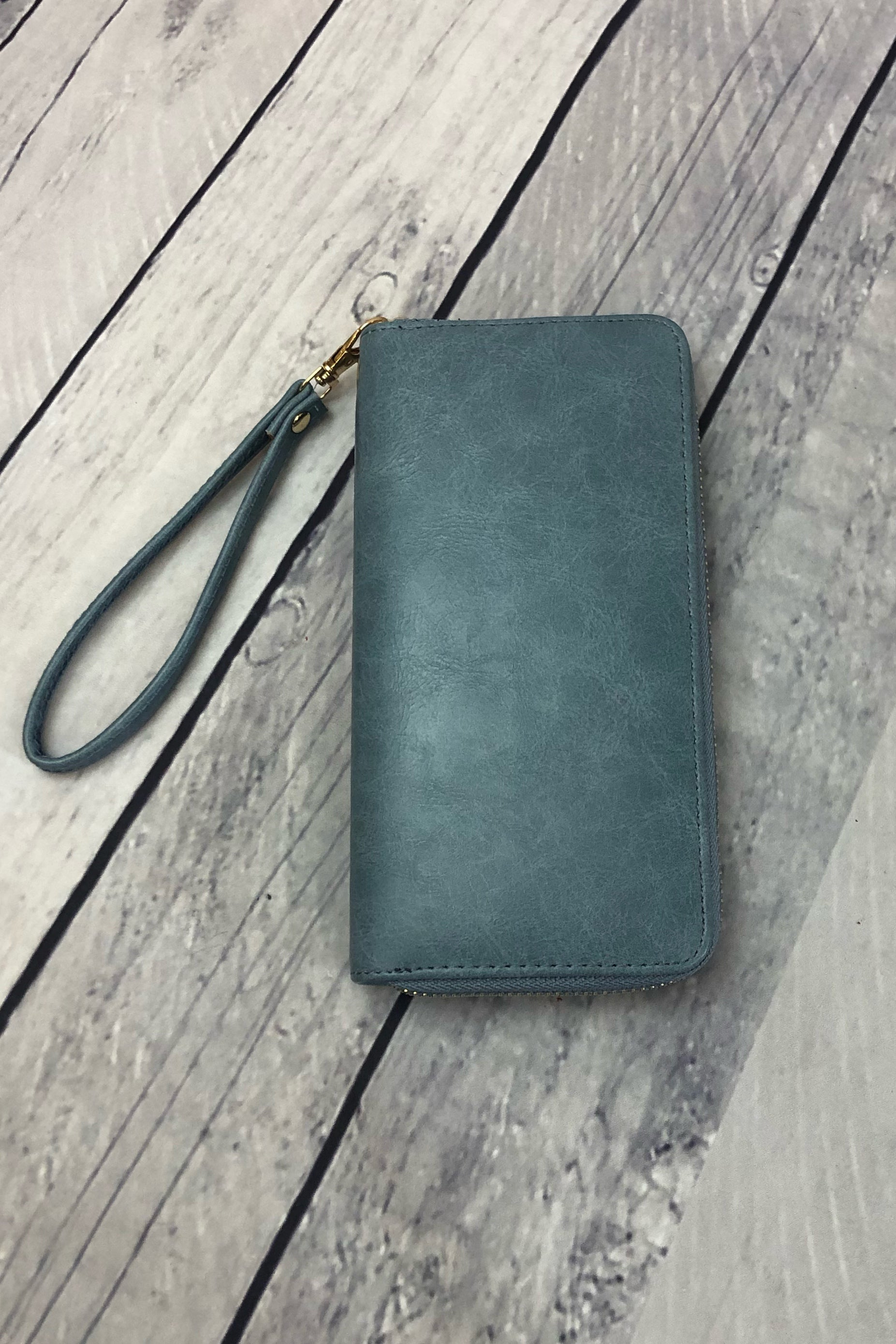 Clutch Wallet - Blue