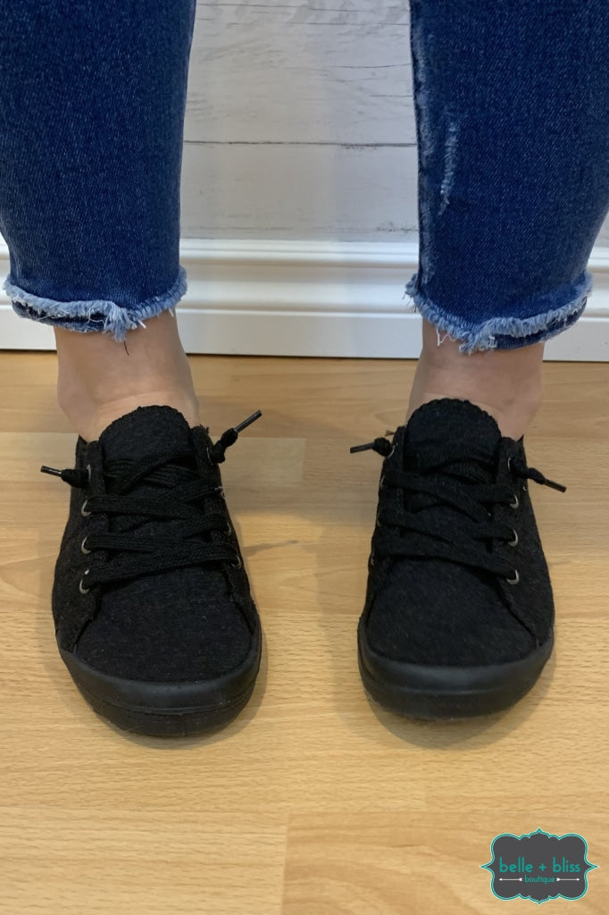 Canvas Sneakers - Black On Accessories