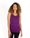 Grace and Lace Perfect Tank Original Long - Boysenberry