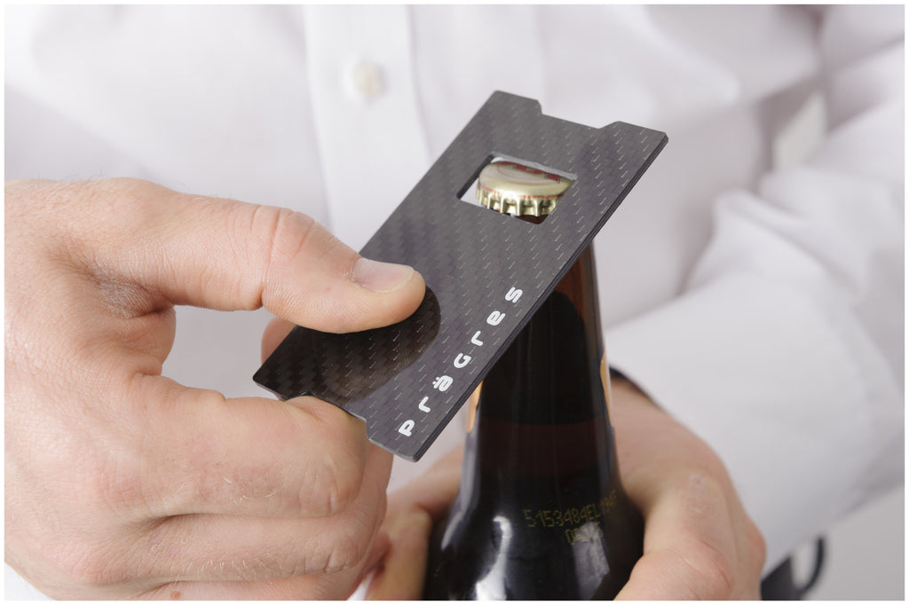 Carbon Clip & Bottle Opener