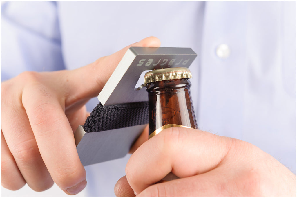 Aluminum Wallet & Bottle Opener