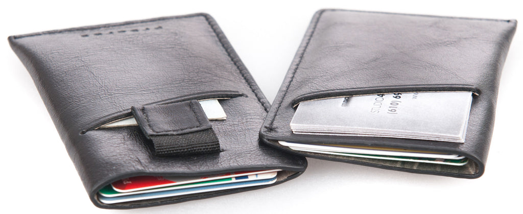 Genuine Leather Pull Tab Wallet