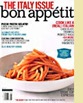 "Bon Appetit ""The Italy Issue"" featuring Wine Forest Wild Foods Dried Wild Porcini Mushrooms"