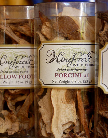 Wine Forest Wild Foods premium dried mushrooms
