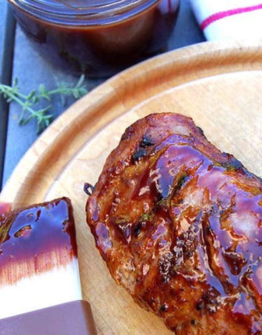 Wild Elderberry Barbecue Sauce Recipe made with Wine Forest Wild Foods Wild Elderberry Jelly