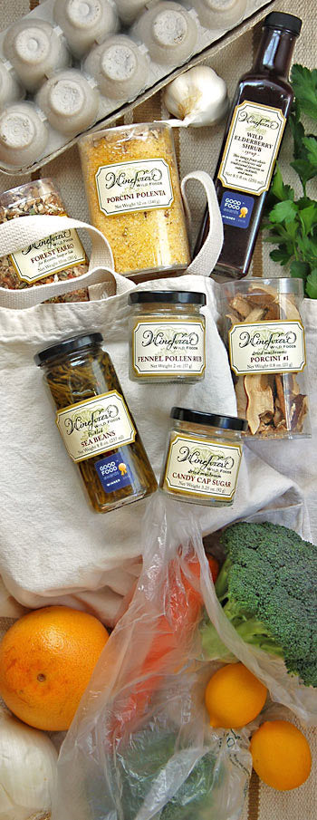 Wine Forest Wild Foods products that are available through our fine retailers