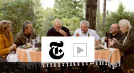 New York Times Edible Selby Video The Big Morel Cookout with Connie Green