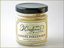 Wine Forest Wild Foods Wholesale Seasonings Fennel Pollen Rub