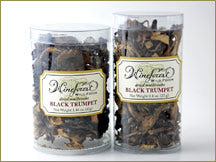 Wine Forest Wild Foods Wholesale Premium Dried Wild Black Trumpet Mushrooms