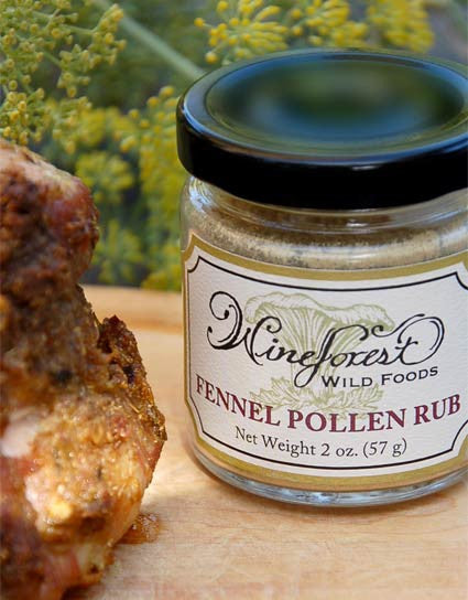 Wine Forest Wild Foods Simply Porchetta made with our Wild Fennel Pollen Rub